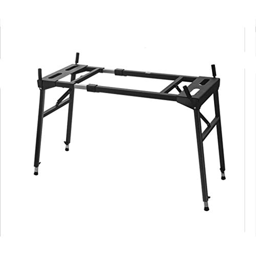 Keyboard Stand Portátiles de Cuatro Patas Estante, Piano eléctrico Guzheng Rack de...