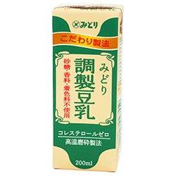 九州乳業『みどり調製豆乳』