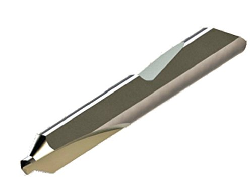 "Micro 100 QDC-6 Quick Change Combined Drill & Countersink, Solid Carbide Tool, 0.219"" (5.56 mm) Drill Diameter, 0.219"" (5.56 mm) Drill Length, 1.685"" (42.7 mm) Projection, 0.5000"" (12.7 mm) Shank Diameter, 3"" (76 mm) Overall Length"