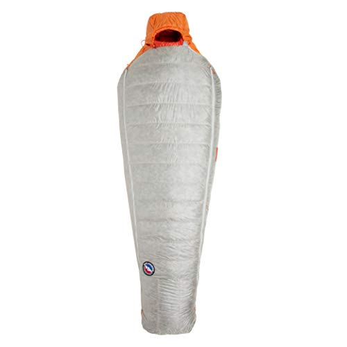 Big Agnes Torchlight Ultralight Sleeping Bag w/850 DownTek for Backpacking and Camping, 20 Degree, Long