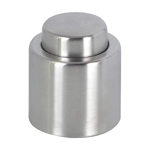 Tapón de vino-Acero inoxidable reutilizable sellado al vacío champán botella de vino tinto bomba tapón tapa herramientas de barra(3#)