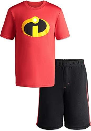 Disney Pixar Incredibles Toddler Boys Athletic T Shirt Mesh Shorts Clothing Set 14 product image