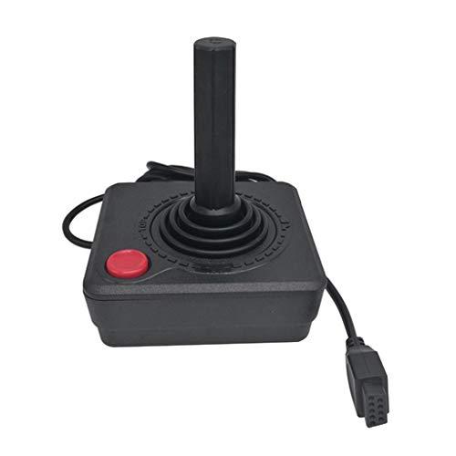 Yanhonin Joysticks clásicos Retro del regulador Negro Gamepad para la Consola del Juego del Sistema de Atari 2600