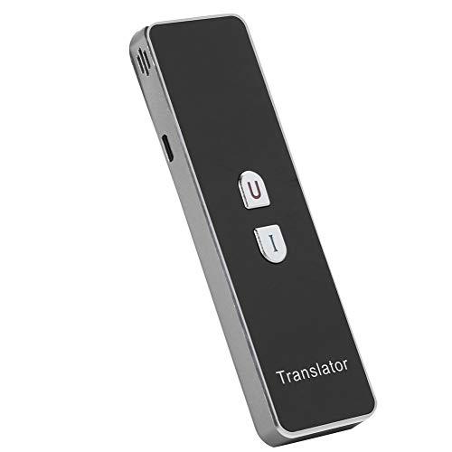Tangxi Traduttore Simultaneo, Traduttore Istantaneo,Bluetooth 2.4G Smart Translator Supporto 40 Lingue,Traduzione in Tempo Reale,Traduzione vocale e Fotografica per Viaggi Business Chat
