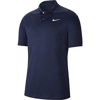 Nike Men s Nike Dri-fit Victory Polo Obsidian/White Large