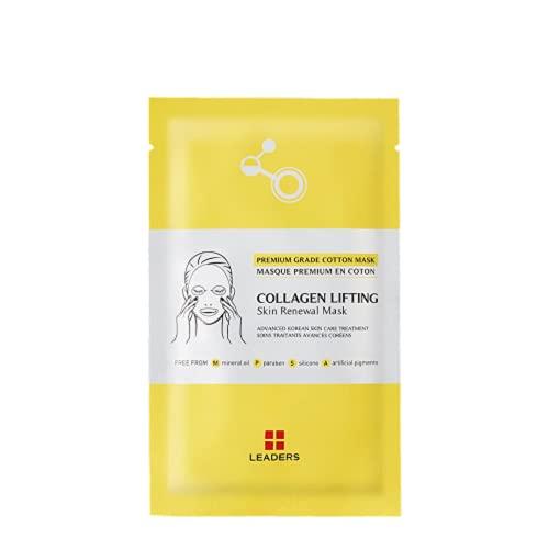 LEADERS – Sheet Masken Insolution Skin Renewal Masken – Collagen Lifting Skin Renewal maschera (25 ml; 4 pezzi)