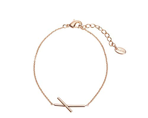 Simple geometric cross-line bracelet elegant charm girl trend temperament trend hand ornamentsAretes Pendientes aro Aretes Muje Regalo para Madre, r