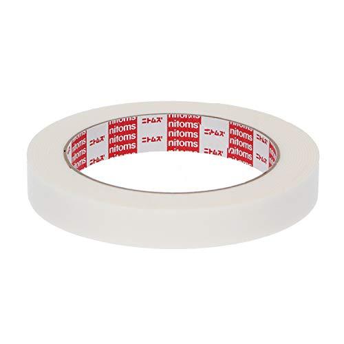 ニトムズ はがせる両面テープ くりかえし貼れる 簡単 のり残りしない 屋内 窓 ガラス 金属 幅15mm×長さ4m×厚さ0.1mm 1巻入 T3410
