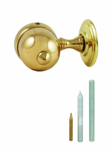 Chapuis NR00 Naissance laiton poli verni - diamètre intérieur : 35 mm - Pour corde diamètre 32mm