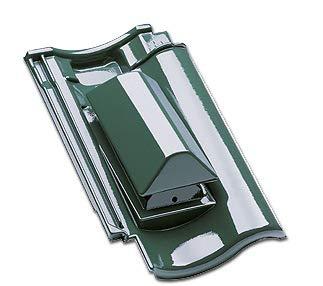 Fleck Sanitärlüfter PVC DN 100 für Braas Harzer Pfanne 7 - BIG (Titano/x terrabraun)