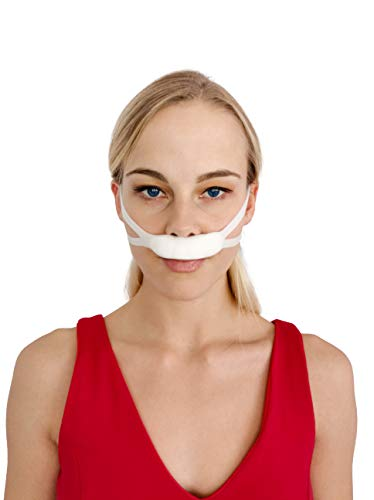 Primare-PrimaNasal-Elastic Nose Bandage Post Surgical Latex Free Seamless External Nasal Bandage with High Absorption Capacity for Nasal Secretions (White – 10 Pack One Size Fits All)