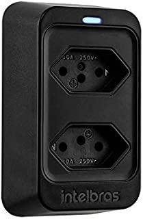 Dispositivo De Proteção Elétrica Intelbras Eps 302 Intelbras Eps Bivoltv Preto