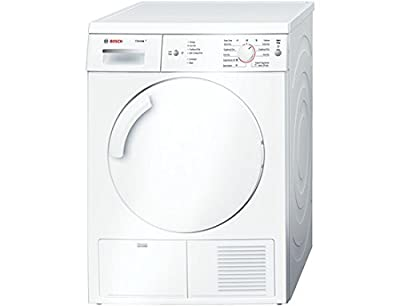 Bosch WTE84106GB 7kg Condenser Tumble Dryer with Sensor Drying System and Top Mount Water Bottle