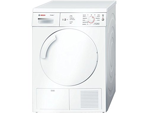 Bosch WTE84106GB 7kg Condenser Tumble Dryer with Sensor Drying System and Top...