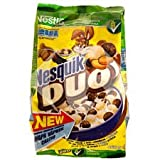 Nesquik DUO chocolate breakfast cereal 460 g-IMPORTED-Shipping FROM USA