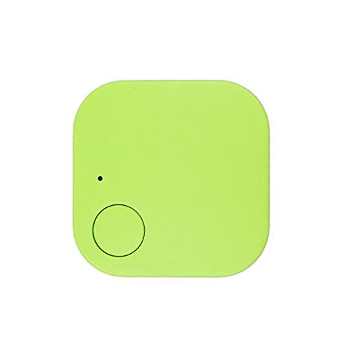 Rastreador GPS para coche, con Bluetooth, dispositivo inteligente antipérdida, para niños, mascotas, cartera, llaves, alarma, minilocalizador en tiempo real (verde)
