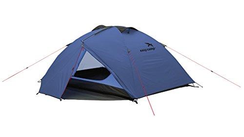 Easy Camp Equinox 200 -Tienda de campaña, Color Azul, tamaño Talla única, Capacidad para 2 Personas