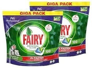 P&G Fairy All in One - Cápsulas para lavavajillas, 100 unidades ...
