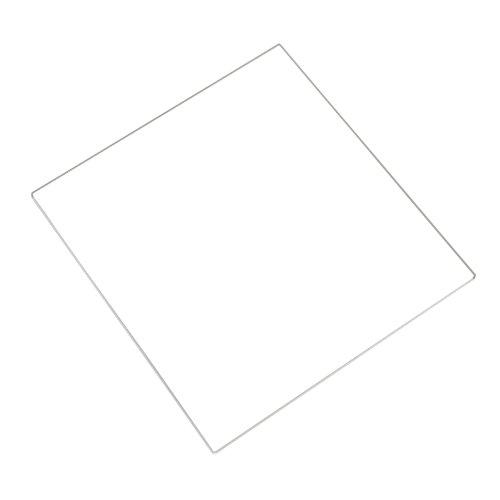 Geeetech MK2 - Placa de vidrio de borosilicato templado para impresora 3D Reprap Prusa i3 de bricolaje (2102003 mm, 1 unidad)
