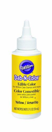 Wilton Yellow Dab-N-Color Edible Color