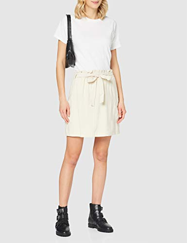 Vero Moda Vmvenus H/w Short Skirt Wvn Falda, Abedul, M para Mujer
