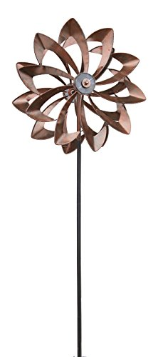 Plow & Hearth 53563-DCP Wind Spinner, Bronze