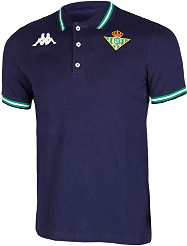 Kappa Zoshi 4 Betis Polo, Hombre, Azul Marino, L