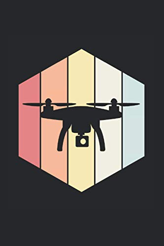 Drone Notebook: Drone Notebooks For Work Drone Notebooks College Ruled Journals Cute Drone Note Pads For Students Funny Drone Gifts Wide Ruled Lined