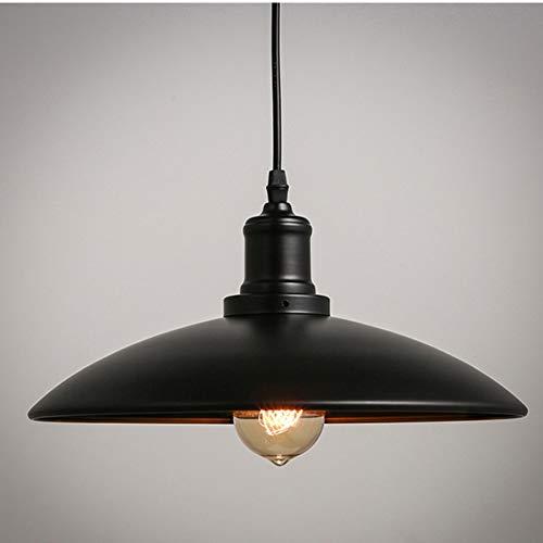 Vintage Retro Edison Loft Pendelleuchte,Retro Industrie Deckenleuchte Lampenschirm Landhausstil Lampe für Bar Café Laden Restaurant Wohnung Hotel mit E27 Edison Lampenfassung