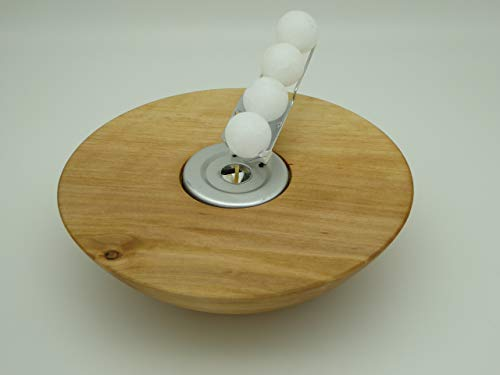 Kerzenhalter Kerze Wachskugeln Erle, Erlen Holz Edelholz Teelichthalter
