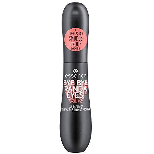Essence Bye Bye Panda Eyes! Smudge-proof Volumizing & Defining Mascara Nr. 01 Black Inhalt: 16ml Wimperntusche