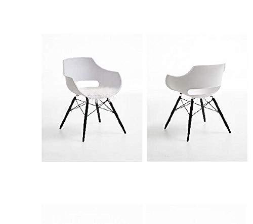 Bodahl Møbler ApS Jazz Einzel-Stuhl Kunststoff Weiß