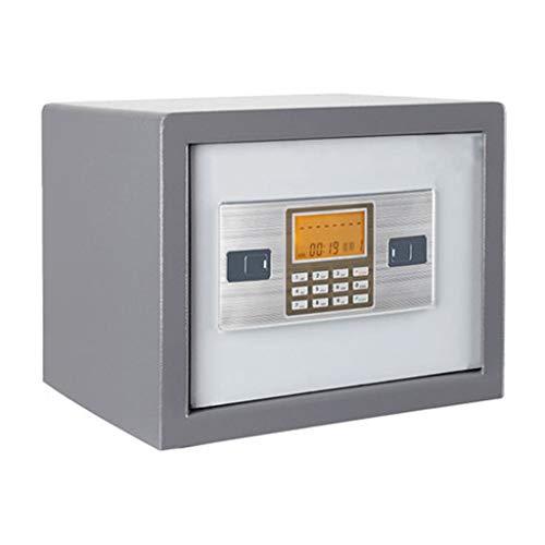 YOT Caja de Seguridad Digital Caja Fuerte de Acero sólido Caja Segura Digital de Seguridad de la contraseña de la contraseña de la contraseña Puede Proteger el Dinero del hogar