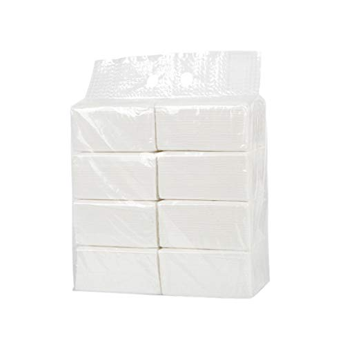 Big Save! Xinantime 8PC Paper Towels Household Napkins Toilet Paper Towels Facial Tissues 135 Sheets...