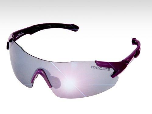 Violet-Racer, rahmenlose Sport-Designbrille mit topmodischem violettem Sportrahmen, Top-Styling von mecara