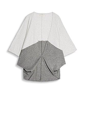 ESPRIT Accessoires Damen 077EA1Q009 Poncho, Grau (Grey 030), Small