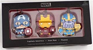 SDCC 2018 Exclusive Hallmark Marvel Avengers Ornaments 3 Pack LIMITED EDITION 1500 Only
