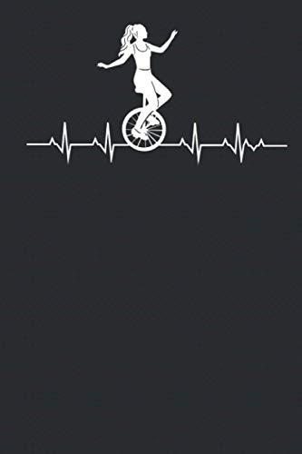 Unicycle Journal: Notizheft, Notizbuch, Terminplaner, Terminkalender (6 x 9 inches) liniertes Papier mit 120 Seiten