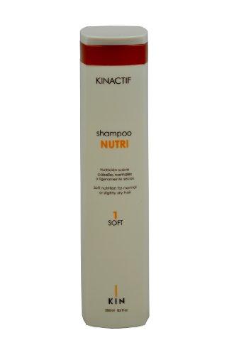 Kin Kinactif Nutri 1 Champú Nutrición suave para cabello normal o ligeramente seco - 250 ml