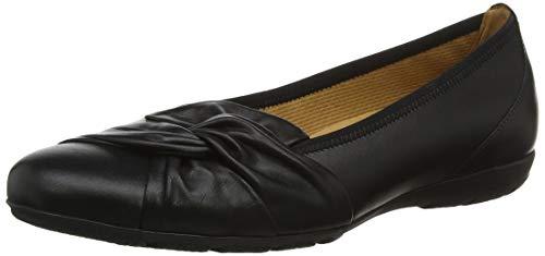 Gabor Shoes Gabor Casual, Ballerines Femme, Noir (Schwarz 27), 38.5 EU
