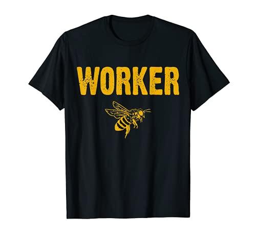 Arbeiter Biene T-Shirt T-Shirt