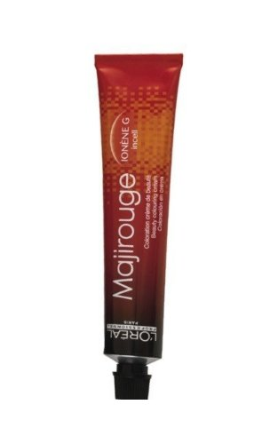 L'Oréal Majirouge 4,65 middenbruin intensief rood mahonie 1 x 50 ml haarkleur LP Coloration