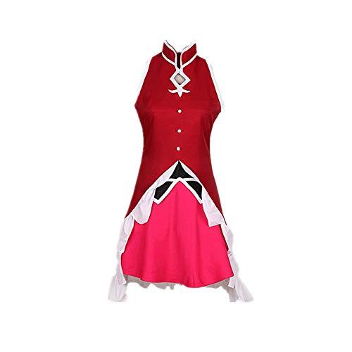 9PCS Sakura Kyouko Puella Magier Madoka Magica Cosplay Costume Kostüm Halloween Karneval Netter Rock Schuluniform Anzüge Prinzessin Kleid Outfit