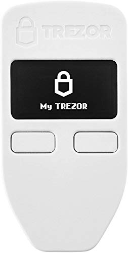 Trezor One - Cryptocurrency Hardware Wallet - The Most Trusted Cold Storage für Bitcoin, Ethereum, ERC20 und viele mehr (Weiß)