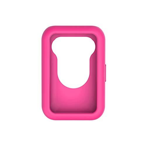 LYB para Huawei Watch Fit Cubierta De Caja Suave Color Color Color Cubierta Cubierta Edge Marco SHUP Shell PERTECT PROTEJER Funda De Silicona De Parachoque (Color : Rose Red)