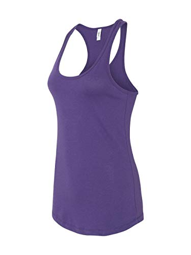 Next Level Apparel Women's The Ideal Quality Tear-Away Tank Top_M_Purple Rush