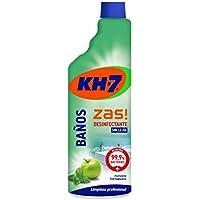 KH-7 Limpiador Baños y Desinfectante - Desinfección sin lejía - Aroma a manzana y hierbabuena - pack de 6 (6 x 750 ml)