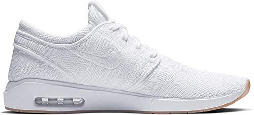 Nike SB Air Max Janoski 2 - Zapatillas de skate para hombre, Gris (Wolf Gris/Metálico Plata Negro), 46 EU