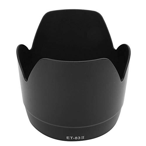 Sxhlseller Gegenlichtblende, ET-83II Kamerahalterung Gegenlichtblende für Canon EF 70-200mm f2.8 L USM Objektiv für Hintergrundbeleuchtung, Seitenlicht, Nachtfotografie