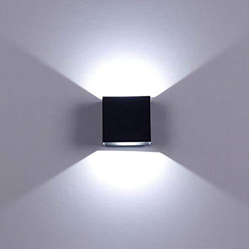 Mayyou 6W LED De Pared Arriba Abajo Lámpara De Pared Interior Moderno Aplique De Pared Accesorios De Iluminación para La Sala De Estar Dormitorio Baño Cocina Comedor